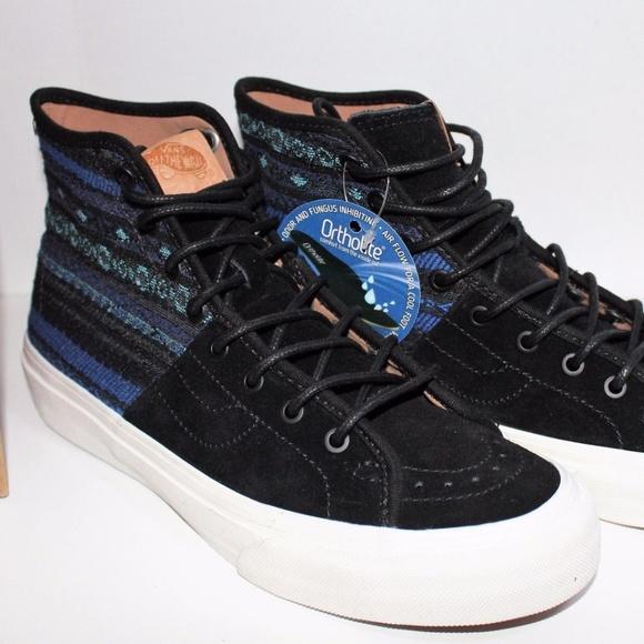 11e27af575 Vans SK8 Hi Decon SPT CA Italian Weave Blue   BLK